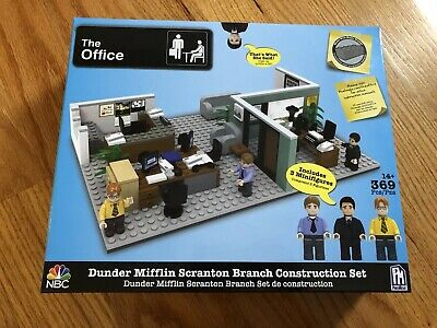 The Office Dunder Mifflin Branch Construction Set Brand New/Sealed (Rare)