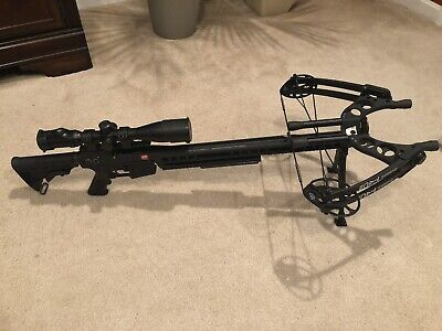 PSE TAC-15 Crossbow w/ Scope, Bolts and Case - FREE SHIPPING