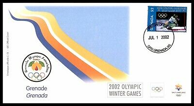 MayfairStamps CANADA FDC 2002 OLYMPIC WINTER GAMES SKIING FDC FIRST DAY COVER ww