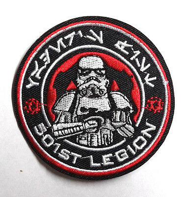 "Star Wars 501st Legion Stormtrooper Red Cog 3"" Patch-USA Mailed (SWPA-FC-14)"