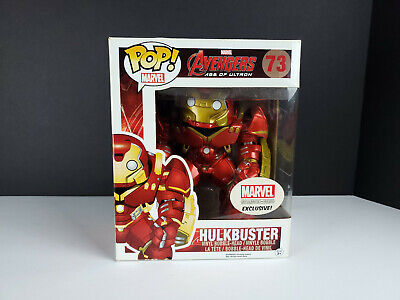 Funko Pop! Marvel: 6-inch Hulkbuster Collector Corps Exclusive #73