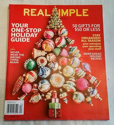 Real Simple Magazine  December 2013  Mint condition