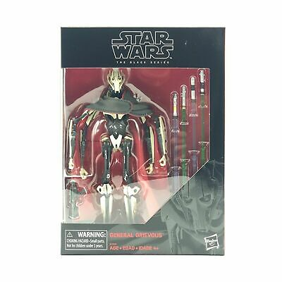 2019 Star Wars Black Series 6 inch D1 General Grievous Sealed NEW