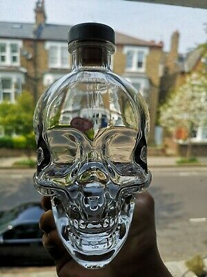 Crystal head skull vodka bottle ORYGINAL cool birthday present gift decanter