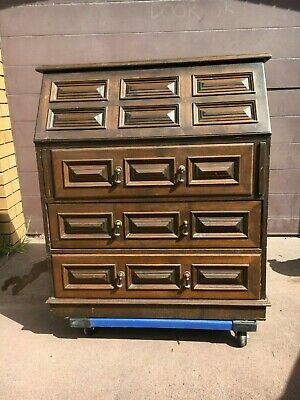 Antique Vintage Writing Desk Bureau in Original Condition