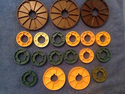Various 16mm. Film Cores for Cameras, Sound Studios and Editing Departments.