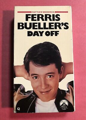 ferris buellers day off vhs