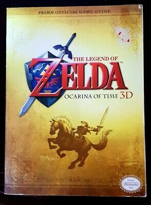 The Legend Of Zelda Ocarina Of Time 3Ds Game Guide.