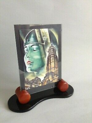 An Art Deco/Modernist Photo Frame in acrylic and in excellent condition.
