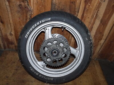 Hinterrad / rear wheel / Suzuki GSF 400 Bandit