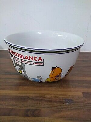 Looney Tunes Cartoon Popcorn Bowl - Warner Bros. 1995 'Carrotblanca'