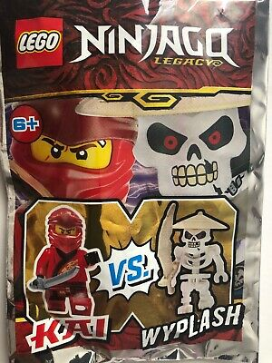Lego Ninjago Legacy Kai vs Wyplash Mini Figures Polybag