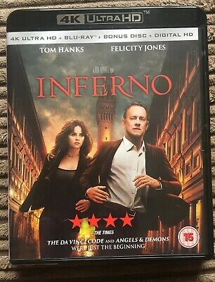 Inferno (4K Ultra HD Blu-ray + Blu-ray + Blu-ray Bonus Disc)