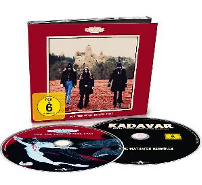 Kadavar For The Dead Travel Fast   CD/BLURAY SET NEW (11THOCT)