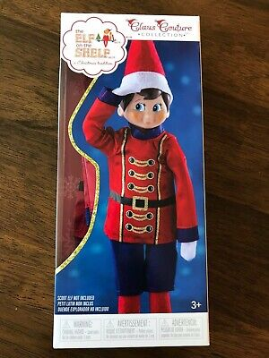 NEW NIP THE ELF ON THE SHELF Claus Couture SUGAR-PLUM SOLDIER *FREE SHIP*