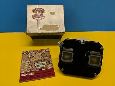 Sawyer's Viewmaster with Box, Instructions and a King Kong 3D Slide Disc