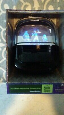 Disney Haunted Mansion Hitchhiking Ghosts Doom Buggy Hologram Lights and Sound