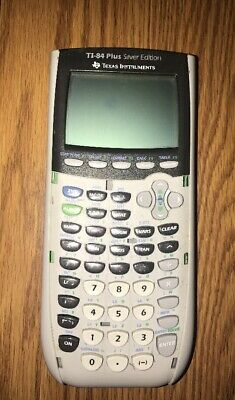 Texas Instruments TI-84 Plus Silver Edition Graphing Calculator FAST FREE SHIP!