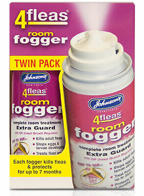 Johnson's 4Fleas Room Fogger Extra Guard With IGR Insect Killer Multipack