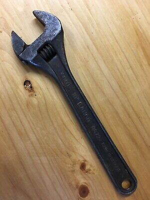 "Vintage  Bahco 10"" adjustable Spanner / Wrench 0672"