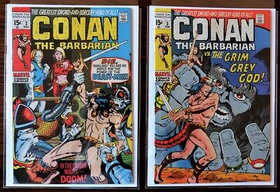 Conan #2 - #22 *Beautiful 21 Issue Complete Set Of Early 15¢ & 20¢ Bronze-Age*
