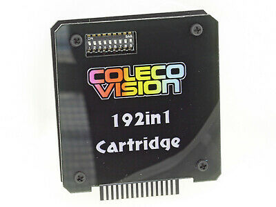 Colecovision 192 in 1 multicart game cartridge system + Cover
