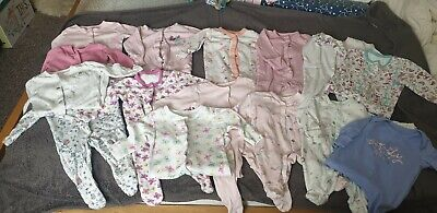 Baby Girls Newborn / First Size Bundle
