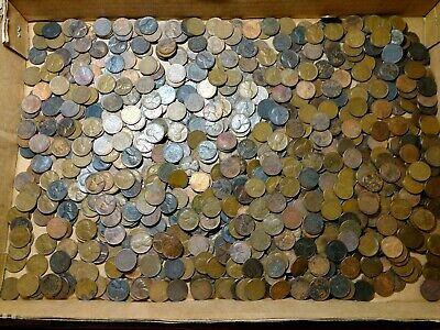 {BJSTAMPS} 1000  LINCOLN Wheat CENTS 1940 to 1958 P D S good mix dates