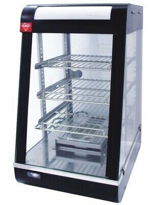 High Quality Commercial Hot Food Pie Chicken Warmer Display Showcase Cabinet KL