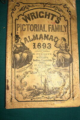 #7120,Wright's Pictorial Family Almanac 1893
