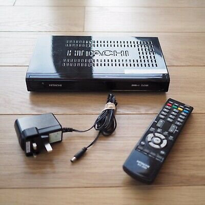 Hitachi HDR255 Freeview+ Tuner Terrestrial TV including Remote
