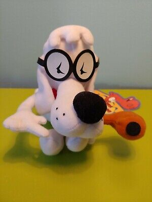 Mr. Peabody Rocky And Bullwinkle Plush Toy