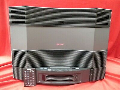 Bose Acoustic Wave Cd-3000 & Remote W/ Cd Multi Charger Music Stereo System