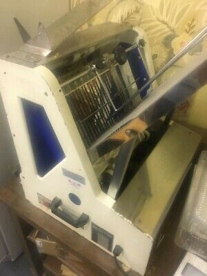 """""""Doyon Sinmag Sm 302"""" H.d. Commercial Counter Top 5/8"""" Bread Slicer Machine"""