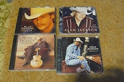 Alan Jackson  4 Cd Lot Everything I Love Greatest Hits Collection Who Am I