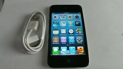 Apple iPod touch 4th Generation Black (32 GB) Works Great