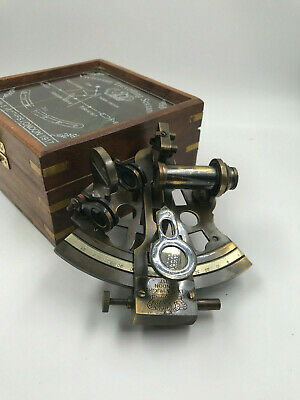 "Nautical ""Kelvin & Huges"" Real Working Sextant 