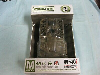 NEW Moultrie W-40i M-Series 18MP Digital Game Trail Camera (MCG-13239) Free Ship