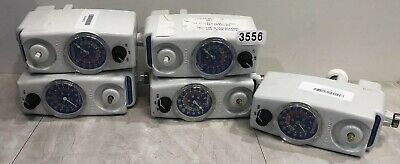 Allied Healthcare Vacutron Continuous Suction Regulator Lot Of 5 (No Knobs) 3556