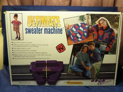 Ultimate Sweater Machine by Bond America - New! T4