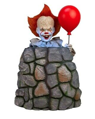 3 Ft ANIMATED PENNYWISE IT CHAPTER 2 Halloween Prop POP UP AND DOWN