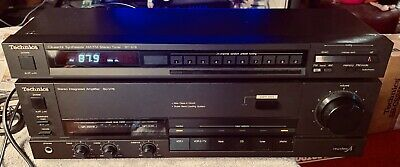 Technics SU-V78 Stereo Integrated Amplifier with ST-S78 Tuner Works Excellent