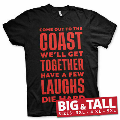 Official Licensed Die Hard - Have A Few Laughs Together Men's 3xl,4xl,5xl Tee
