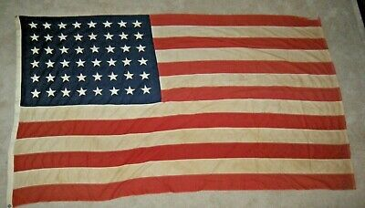 Vintage United States of America 48 Star 5 x 8 Flag