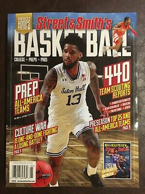 BASKETBALL 2019-20 STREET & SMITH'S PREVIEW MAGAZINE Brand New Free Shipping