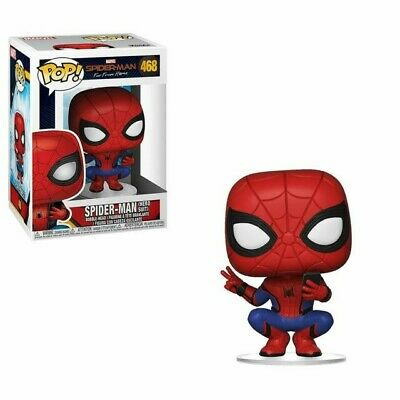 Figurine Spider-Man Far From Home - Spider-Man Hero Suit Pop 10cm