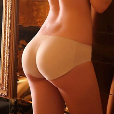 Women Shapewear Buttock Padded Brief Panties Lady Bum Butt Lift Low-Waist Briefs