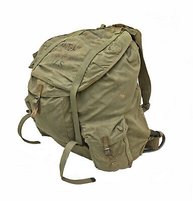 WWII US Military 88B 1942 SIMMONS CO Alpine Mountain Rucksack Backpack Frame WW2