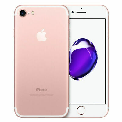 "Apple iPhone 7 32GB 2GB RAM  AT&T GSM Unlocked Quad-core Smartphone 4.7"" Pink"