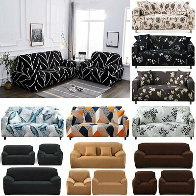 1-4 Super Stretch Sofa Slip Cover Couch Cover Lounge Cover Sofa Covers Slipcover